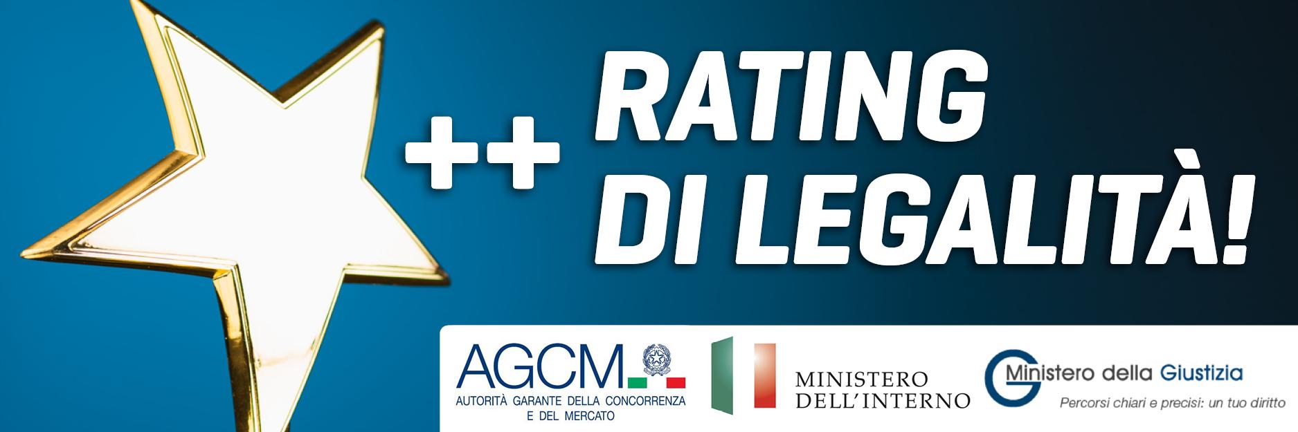 Trend Ottiene l\'attribuzione del Rating di Legalità con il punteggio di \