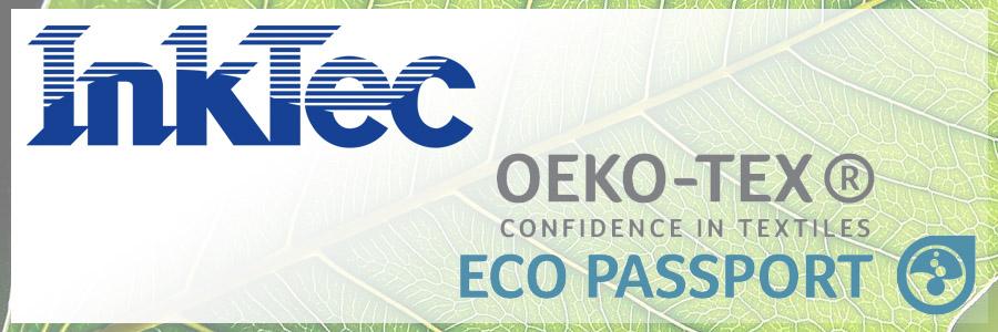 Gli inchiostri Sublinova della InkTec hanno ottenunto l\'Eco Passport dalla Oeko-Tex® Association     Inktec, un\'azienda di calibro..